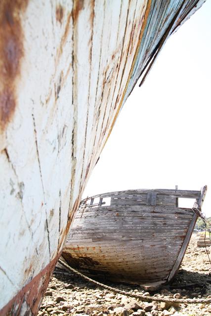 Petit bateau par Vincent Moncorgé